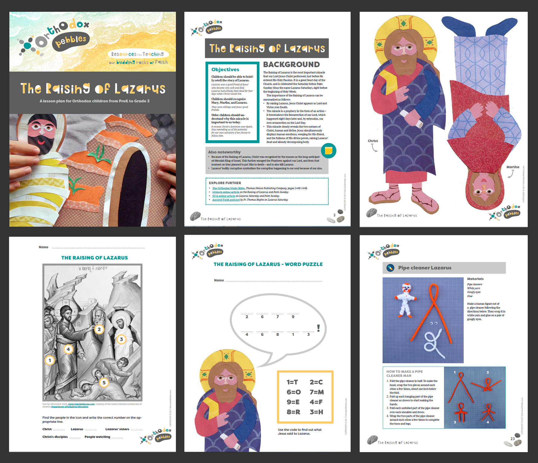 Orthodox Pebbles Resources For Teaching Our Budding