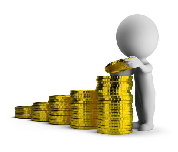 3d small people – financial success