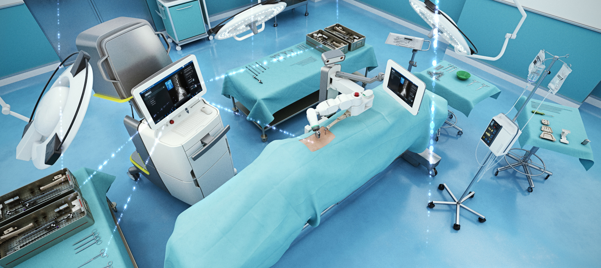 mazor-core-surgical-room