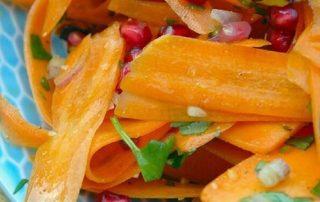 Marokkaanse wortelsalade