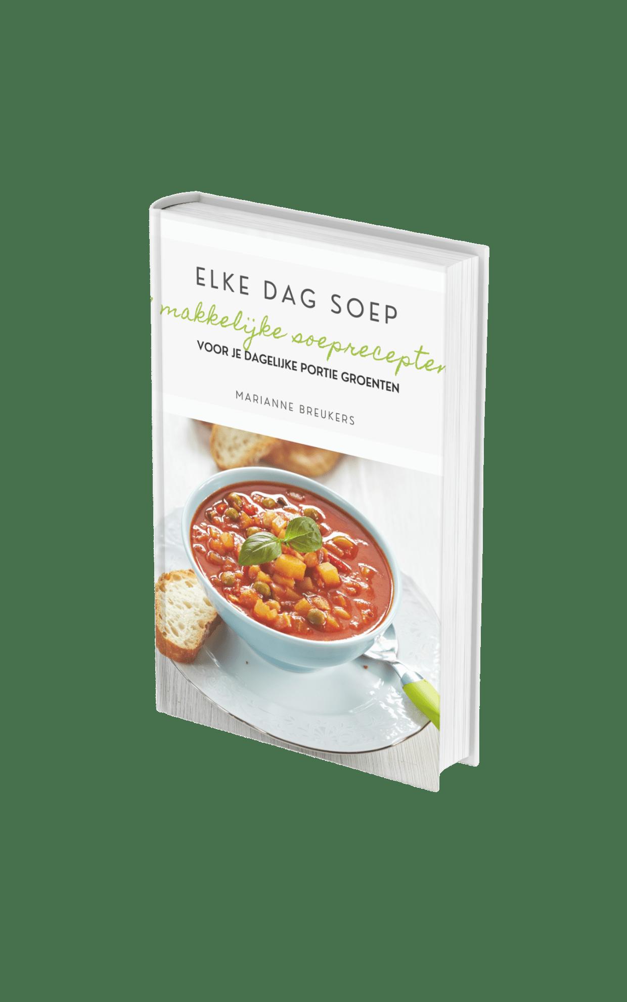 Cover e-book Elke dag soep orthomea