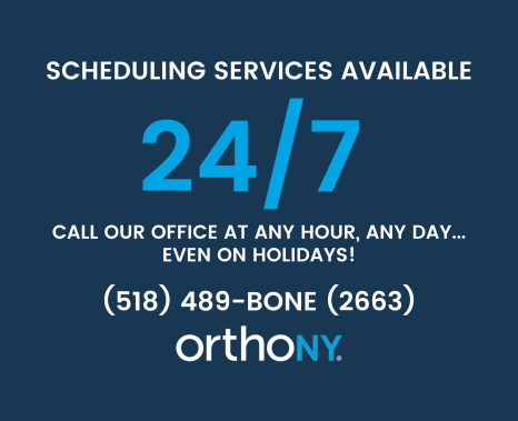 scheduling services 24/7 graphic