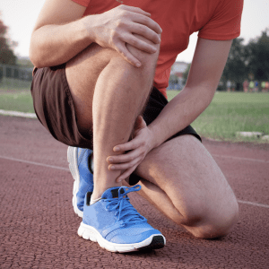 Man with Achilles Tendon Rupture