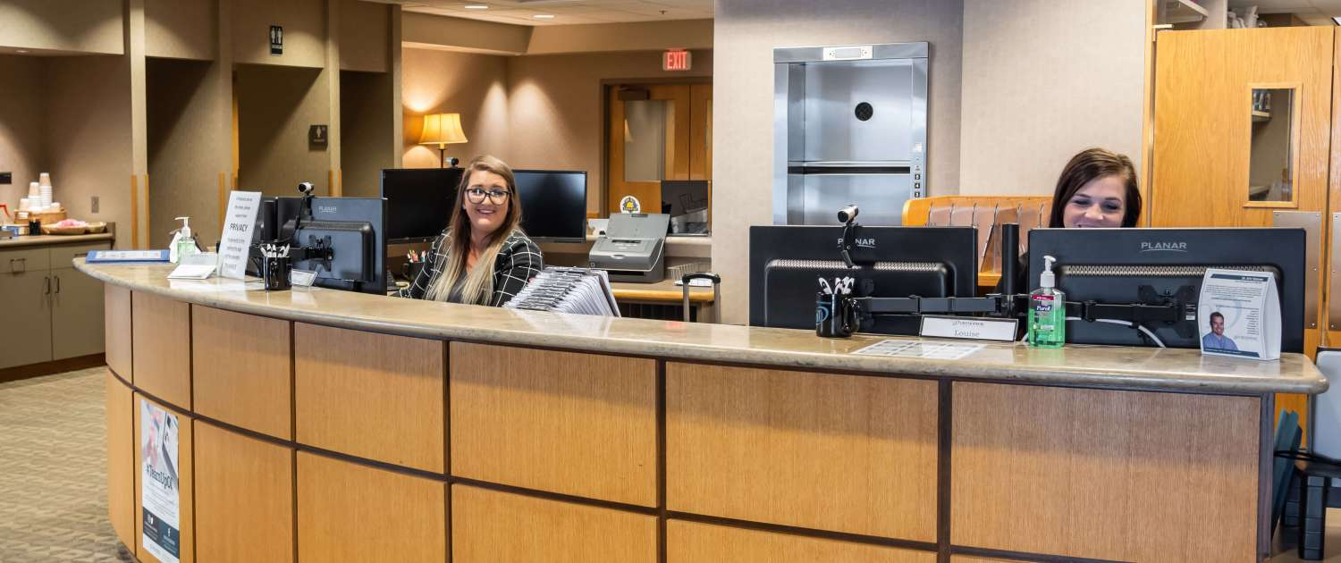 Orthopedic Institute of Sioux Falls front desk