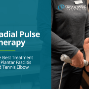 Radial Pulse Therapy used to treat Plantar Fasciitis, Tennis Elbow, and other forms of Tendinitis at Orthopedic Institute.