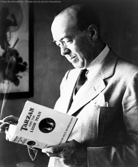 Image result for edgar rice burroughs