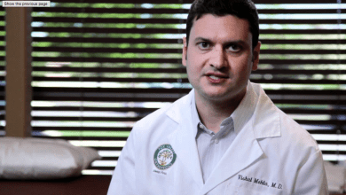 Photo of REVOLUTIONARY ORTHOPEDIC TECHNIQUE SUCCESSFULLY PIONEERED IN US BY ILLINOIS SURGEON DR. VISHAL MEHTA