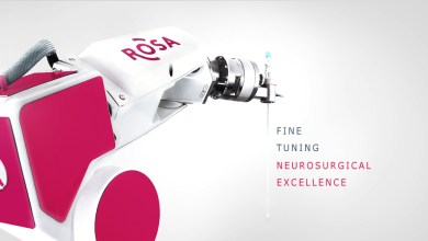 Photo of Medtech's ROSA Robotic Surgery System to be Featured at the 84th American Association of Neurological Surgeons (AANS) Annual Meeting