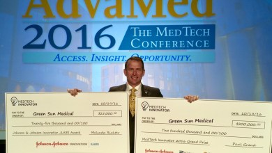 Photo of Dynamic Scoliosis Brace wins AdvaMed Innovation Competition