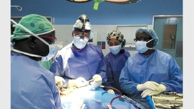 Photo of Jamaican doctor pioneers disc replacement procedure