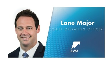 Photo of K2M Names Lane Major Chief Operating Officer