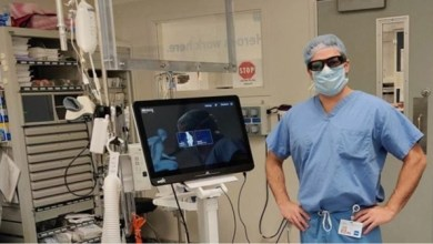 Photo of Vuzix Blade Aids First Augmented Reality Smart Glasses-Based Total Knee Replacement Surgery in the U.S.