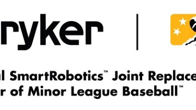 "Photo of Stryker Enters National Partnership With Minor League Baseball to Become the ""Official SmartRobotics™ Joint Replacement Partner"""