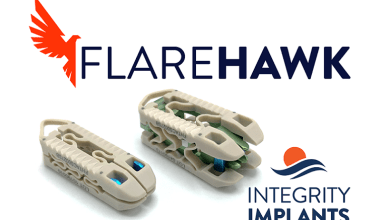 Photo of Integrity Implants Receives CE Mark for its Novel FlareHawk® Expandable Lumbar Interbody Fusion Device