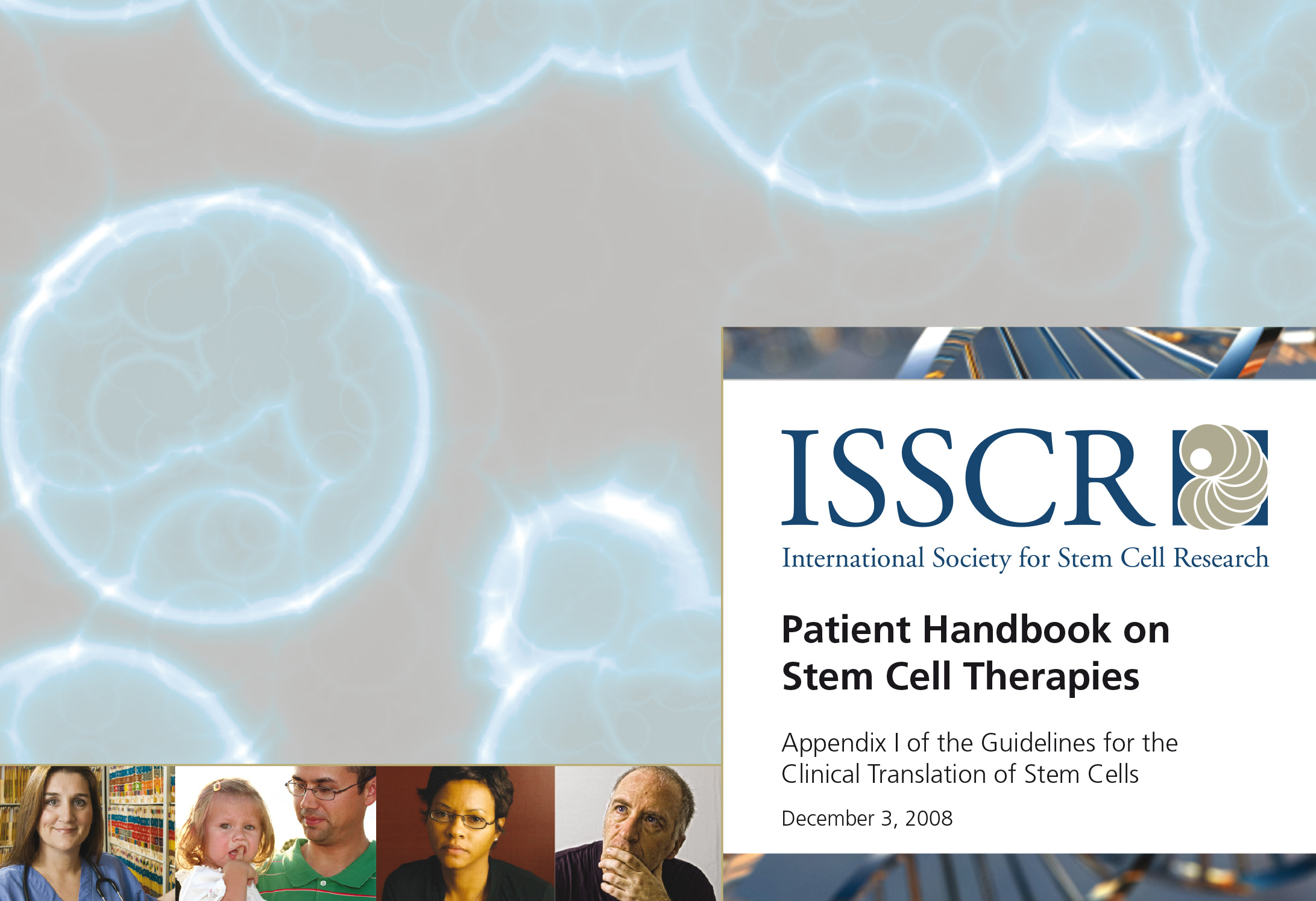 Patient handbook on stem cell therapies