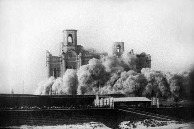 Снос Храма Христа Спасителя, 1931 год
