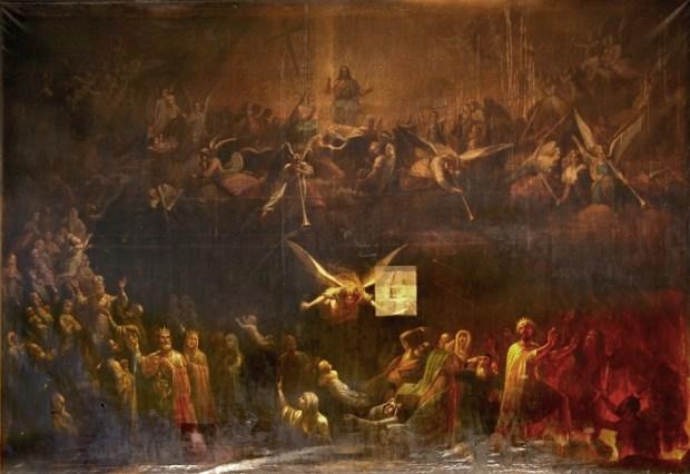 Страшный суд. 1840-ые Мягков Т.Е. (1813-1865)_(1)