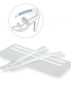 Прозрачные наклейки на ремешки в обуви Арт. 262