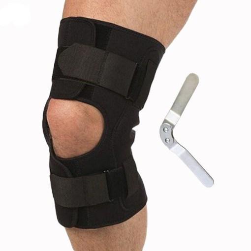 Бандаж на коленный сустав с полицентрическими шарнирами Т-8508