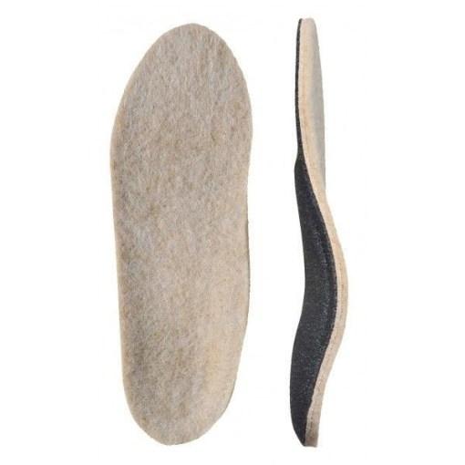 Мягкие ортопедические стельки из натуральной овечьей шерсти. Арт. 74