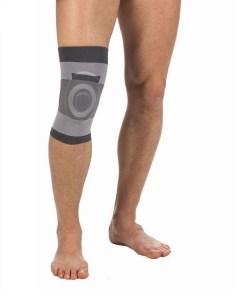 Бандаж компрессионный на коленный сустав с силиконовым кольцом Арт. Т-8520