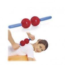 Мячи игольчатые с ручкой (2 больших мяча) Арт. М-402