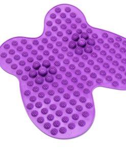 Коврик массажный рефлексологический для ног «РЕЛАКС МИ» фиолетовый, зеленый, синий BRADEX KZ 0450, KZ 0451, KZ 0452