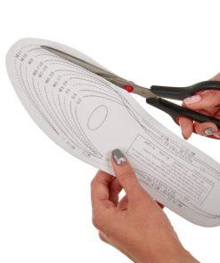 Стельки для обуви с памятью «ЗДОРОВАЯ СТОПА» BRADEX KZ 0047