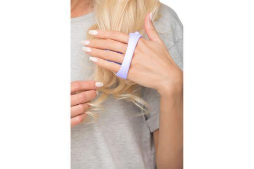 Массажер для мытья головы и ухода за волосами, сиреневый BRADEX KZ 0495