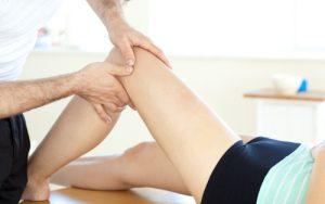Техника массажа голеностопа после перелома артроза и травм связок