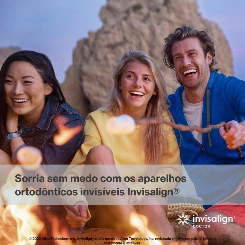 Sorria sem medo com ortodontia invisalign