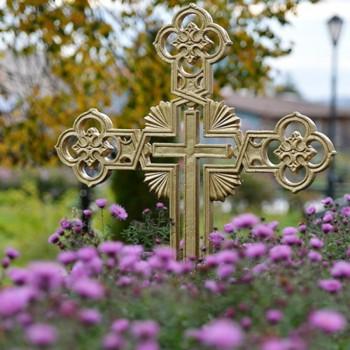 cruce 1 350x350 Înmormântarea și pomenirile pentru morți   călăuză ortodoxă