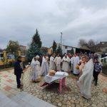 Sfinții Arhangheli prăznuiți prin Liturghie arhierească la biserica din cartierul Slobozia Doamnei, or. Orhei