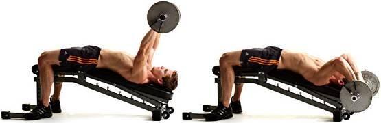 Exercício tríceps testa pode ocasionar dor no cotovelo
