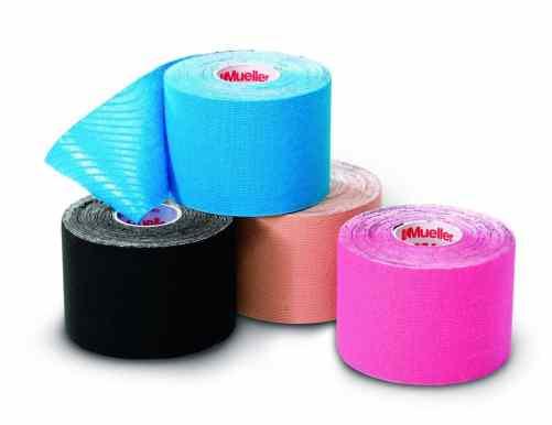 duas marcas principais são Kinesio Taping e KT Tape