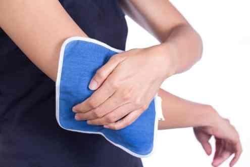 A crioterapia é muito eficaz para alívio da dor