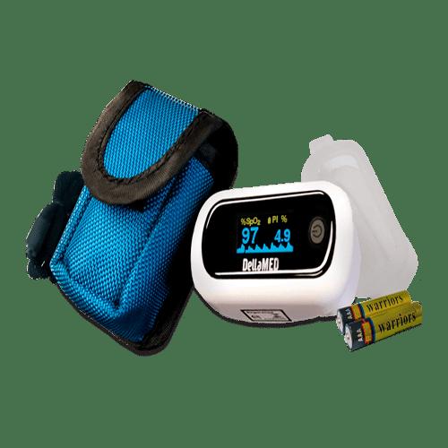 Oxímetro com alarme Dellamed - Ortopedia Online SP