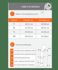 Meia de compressão Jobst 20-30mmGh Unissex - Ortopedia Online SP
