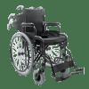 Cadeira de Rodas D400 aço carbono capacidade 100Kg - Ortopedia Online SP