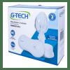 Nebulizador compressor G-Tech Compact DC2 branco 110V/220V - Ortopedia Online SP