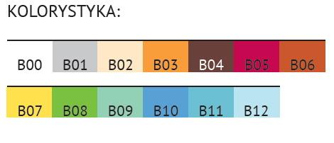 klin antyrefluksowy valde b93 - kolorystyka