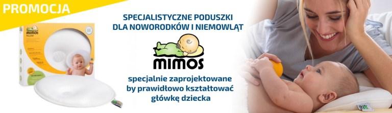 poduszki medyczne dla niemowląt MIMOS