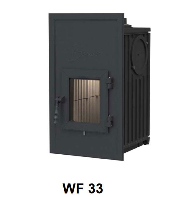Kachelofen Heizeinsatz Bunner WF33