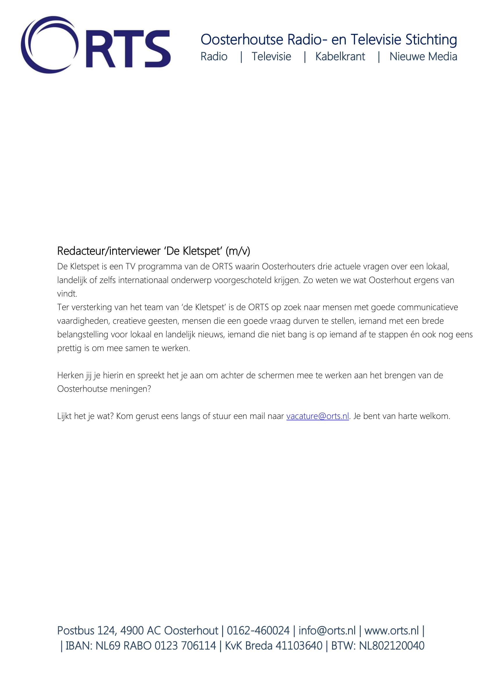 redacteur Inteviewer De Kletspet-1