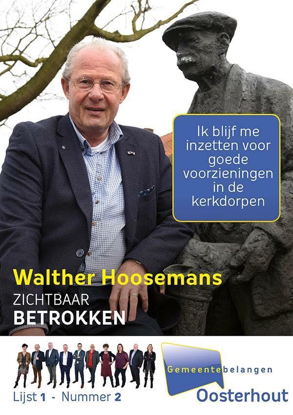 Walther Hoosemans wethouder