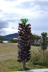 Bierflaschen-Baum