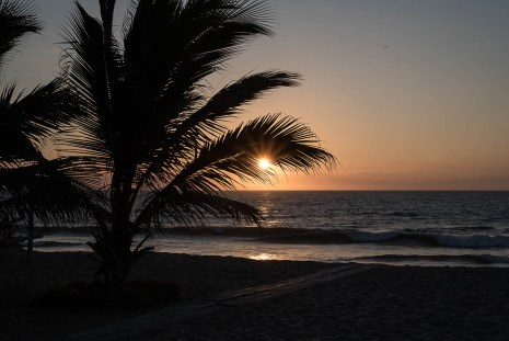 Sonnentuntergang - Zorritos