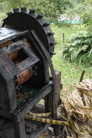 Zuckerrohrpresse