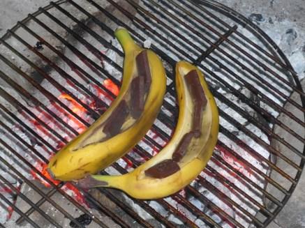 Schoggi-Bananen, lecker!