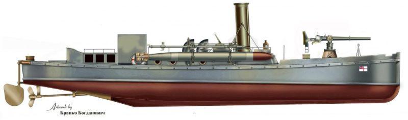 HM Picket Boat, Tender to HMS Egmont